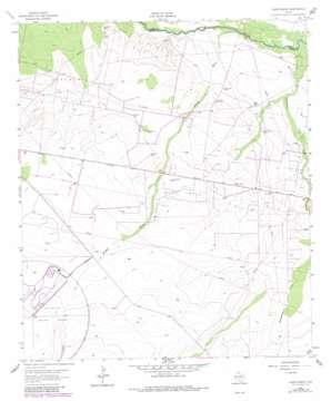 Ligon Ranch topo map