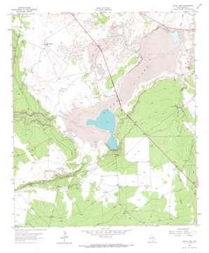 Toyah Lake USGS topographic map 31103c4