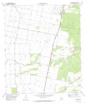 Worsham topo map