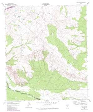 China Lake topo map