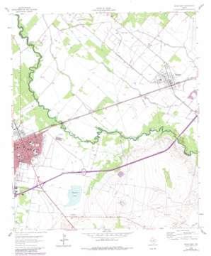 Pecos East USGS topographic map 31103d4