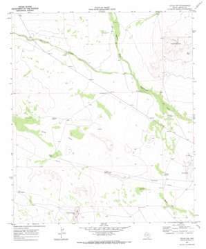 Toyah Nw topo map