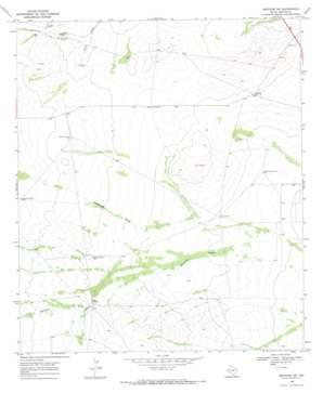 Mentone Sw topo map