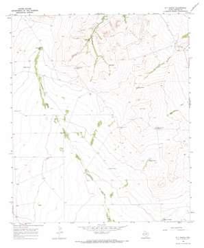 W T Ranch topo map