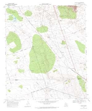 Pyote Ne topo map
