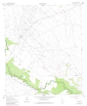 Mentone USGS topographic map 31103f5