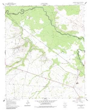 Anderson Ranch topo map