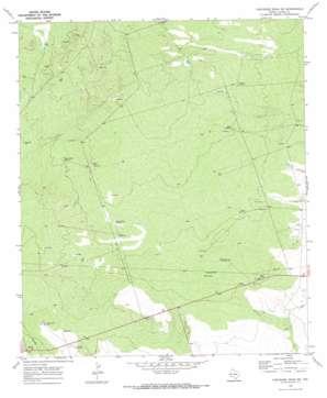 Cheyenne Draw Sw topo map
