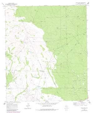 Rudd Draw topo map