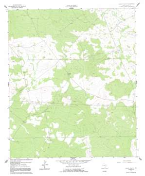 Lindley Ranch topo map