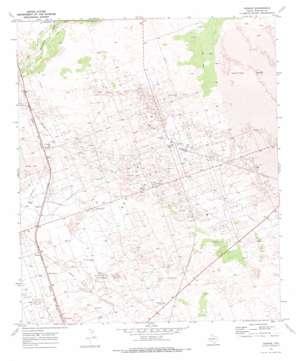 Vesrue topo map
