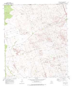 Kermit Nw topo map