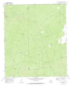 Cheyenne Draw topo map