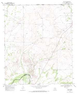 Orla Ne topo map