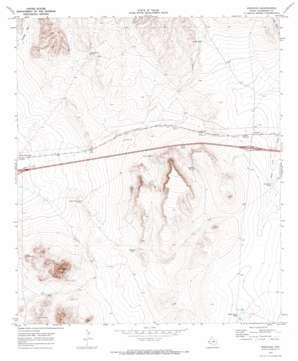 Boracho USGS topographic map 31104a4