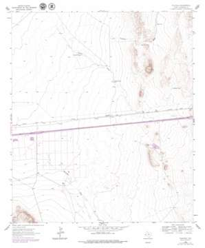 Plateau USGS topographic map 31104a5