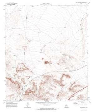 San Martine topo map