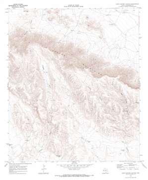 East Hunter Canyon topo map