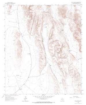 Goat Canyon topo map