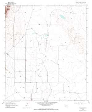 Watson Ranch topo map