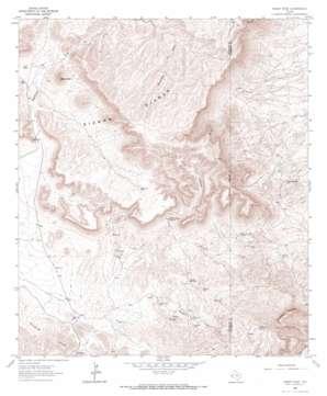 Sheep Peak topo map
