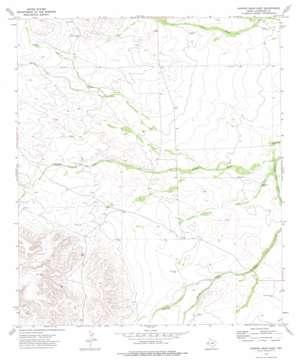 Hopper Draw East topo map