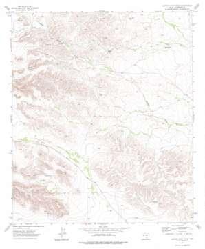 Hopper Draw West topo map