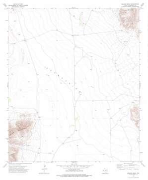 Square Mesa topo map