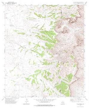 Collier Mesa topo map