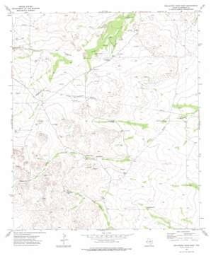 Dellahunt Draw East topo map