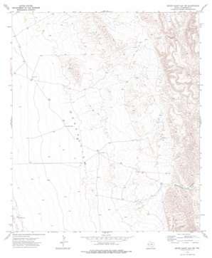 Seven Heart Gap Nw topo map