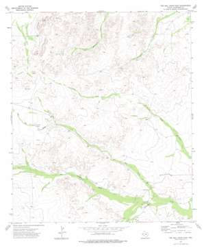 Two Mill Draw East topo map