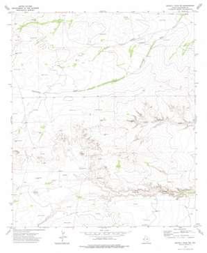 Seven L Peak Ne topo map