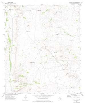 Seven L Peak topo map