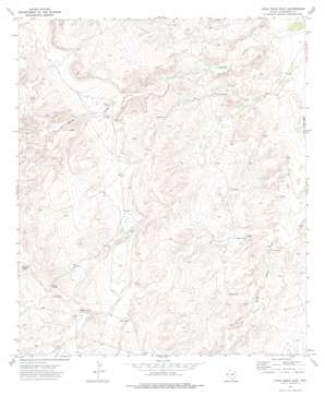 Chico Draw East topo map