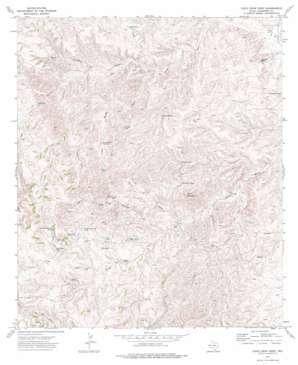 Chico Draw West topo map