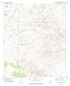 Screw Bean Draw West topo map