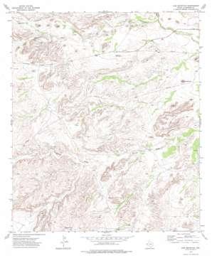 Cow Mountain topo map