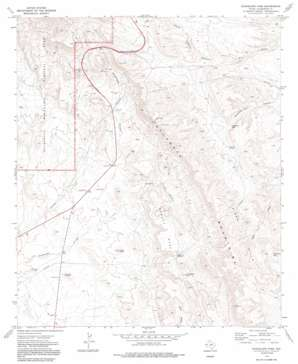 Guadalupe Pass USGS topographic map 31104g7