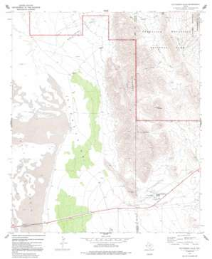 Patterson Hills topo map