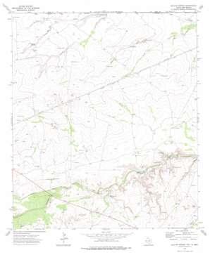 Outlaw Spring topo map