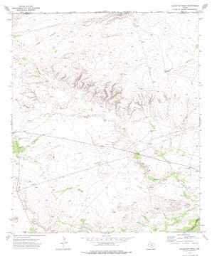 Alligator Draw topo map