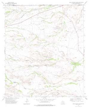 South Rector Canyon topo map