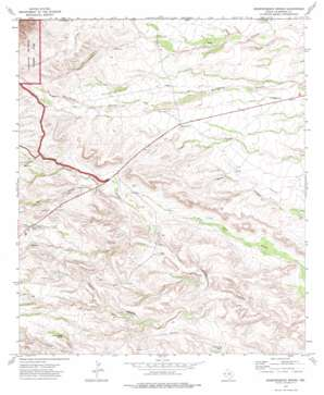 Independence Spring topo map