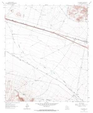 Allamoore topo map