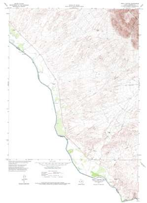 Neely Canyon topo map