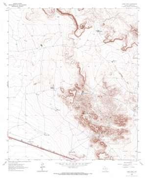 Dome Peak topo map