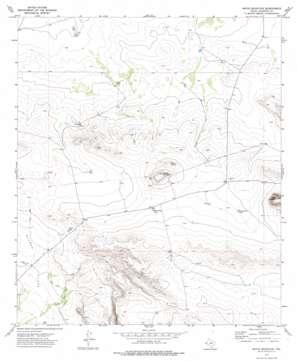 Movie Mountain topo map