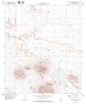 Gunsight Hills South USGS topographic map 31105c4