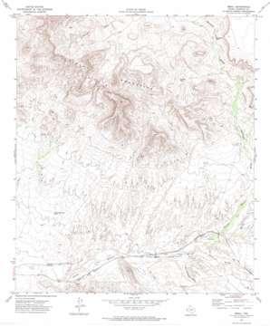 Small topo map